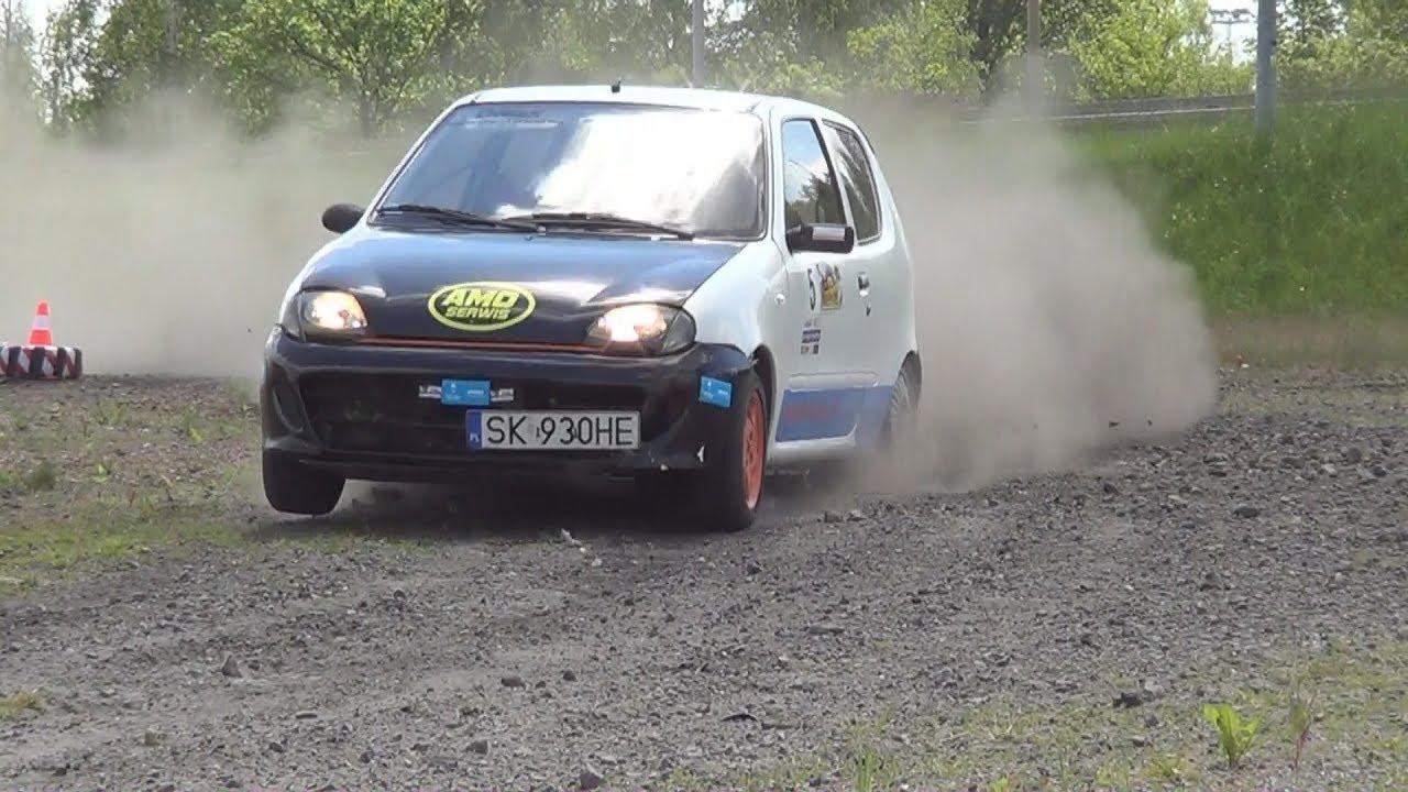 4 Gliwicki Rally Sprint 2017 – Jakub Najgrodzki / Agnieszka Szybaj – Fiat SCS