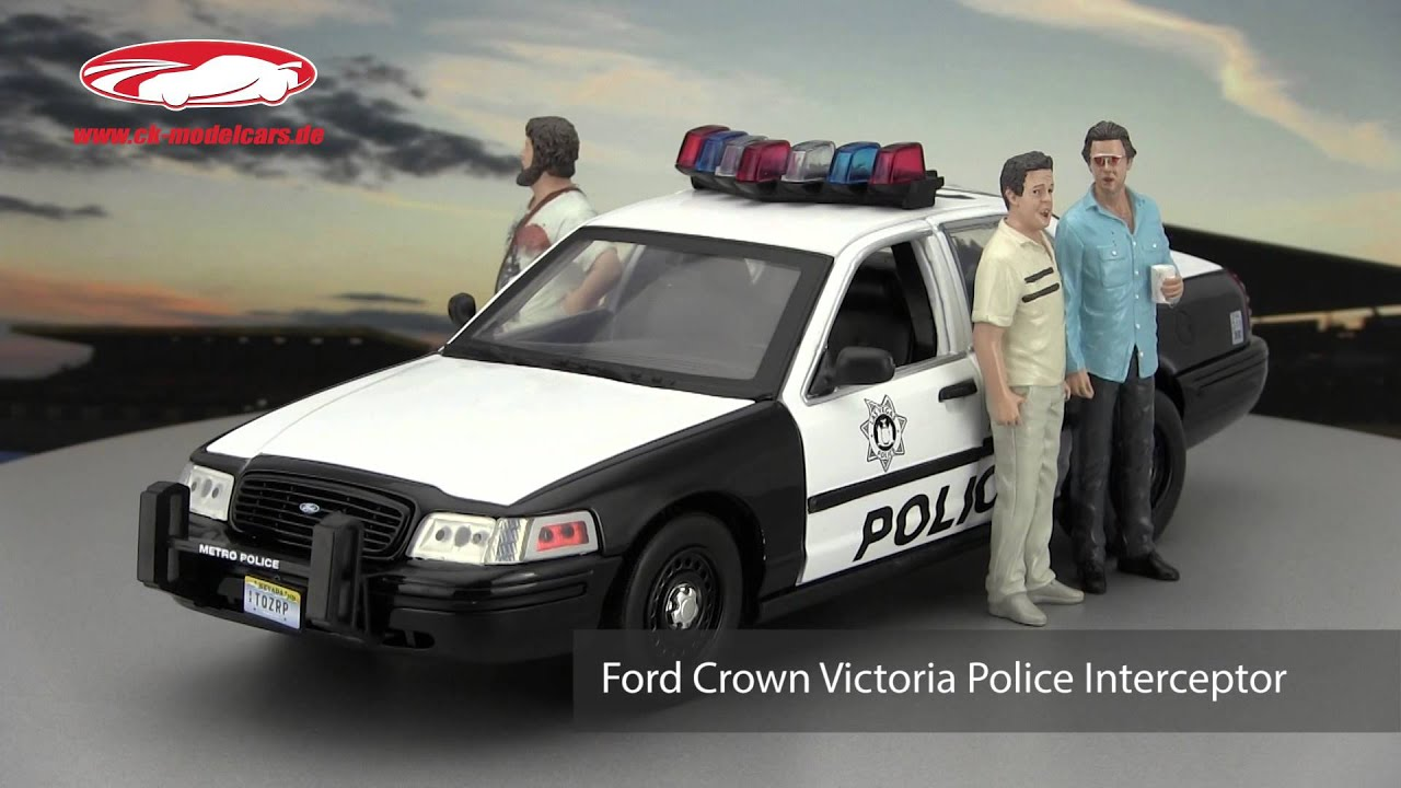 ck-modelcars-video: ford crown victoria police interceptor