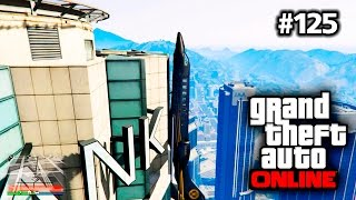 GTA V Online #125 PC • Luxor auf den Maze Bank Tower crashen