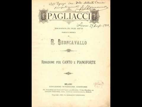 Leoncavallo: Pagliacci - Recitar...Vesti la giubba - Giovanni Martinelli, cond. Papi (Live, 1936)