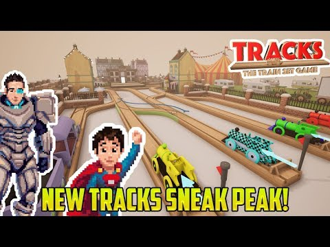 Tracks: NEW CONTENT SNEAK PEAK! Junctions, Multiple Trains! Fun Toy Trains for Kids