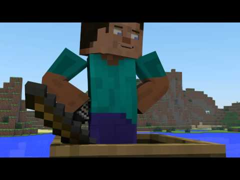 Fishing with TNT - Minecraft Animation