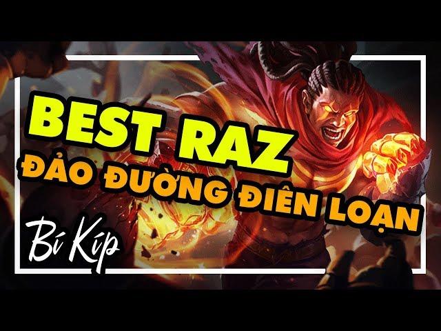 Tùng Xeko - BEST RAZ Bí kíp đảo đường | Tùng Xeko Channel