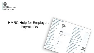 Help for Employers - Payroll IDs