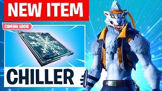 "Fortnite ""CHILLER"" NEW ITEM UPDATE! - FREEZE ANYONE INSTANTLY! (FORTNITE BATTLE ROYALE)"