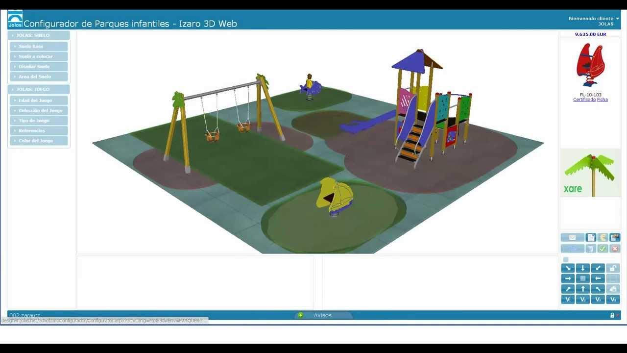 Configurador de parques infantiles youtube - Como hacer un parque infantil ...