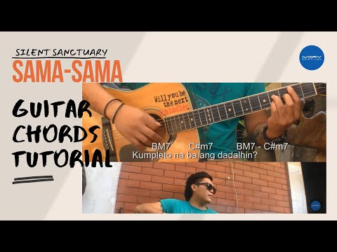 Silent Sanctuary  SamaSama  Guitar Tutorial and Lyrics