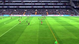 FIFA 14 - FC Barcelona - Manchester United - Gameplay - Final Tournament