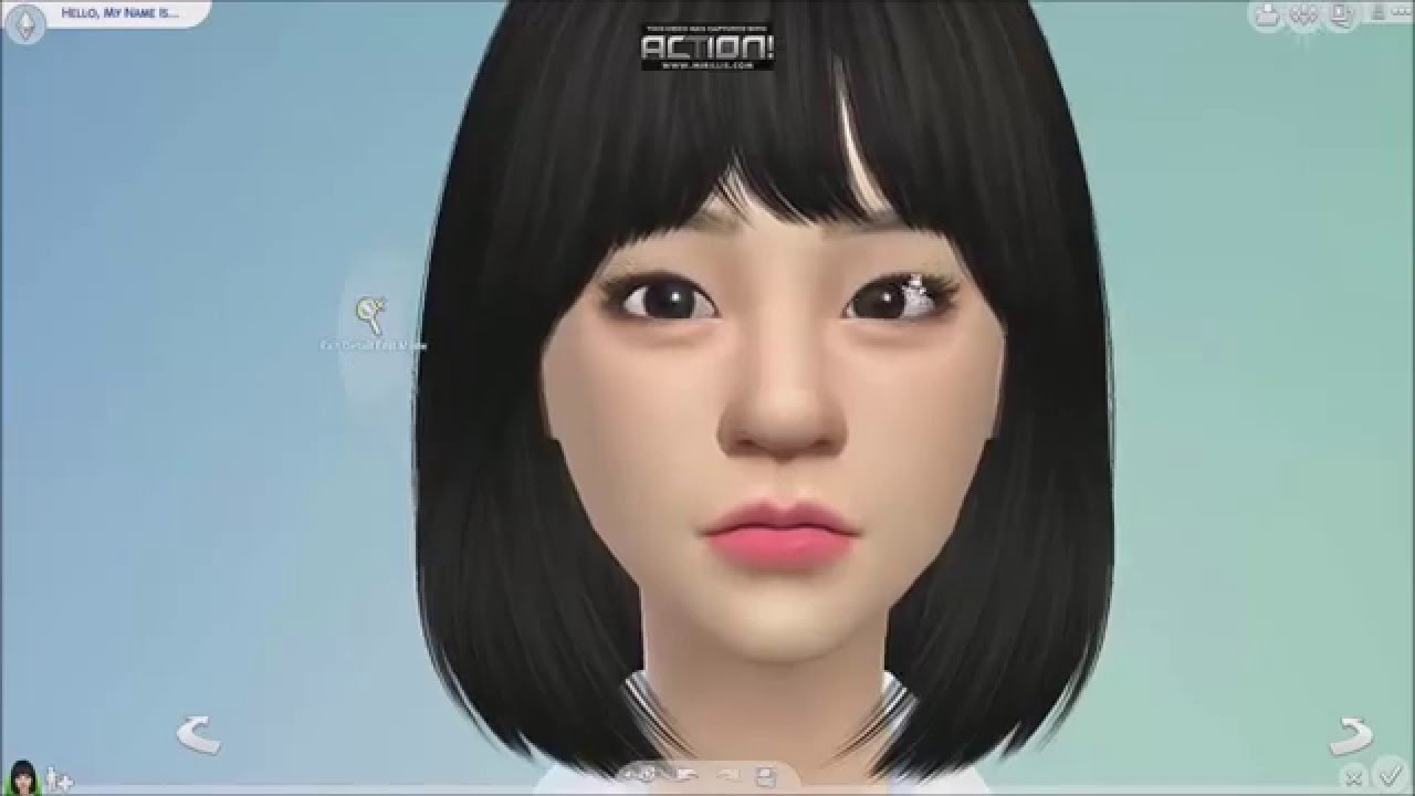 The Sims 4 Create A Sim Reply 1988 S Duksun Girl S Day