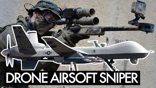 Urban Airsoft Sniper - Drone Action