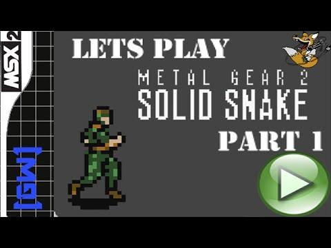 Прохождение  Metal Gear 2: Solid Snake Часть I