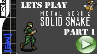 Прохождение  Metal Gear 2: Solid Snake Часть I