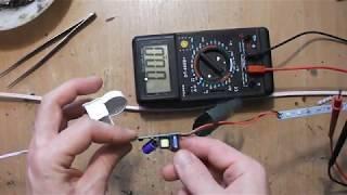 простой ремонт светодиодного светильника