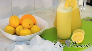 Orange And Lemon Drink From Chef Ricardo Cooking