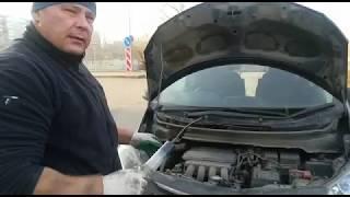 Раскоксовка 204-СУРМ-НК в процессе работы двигателя Honda Fit