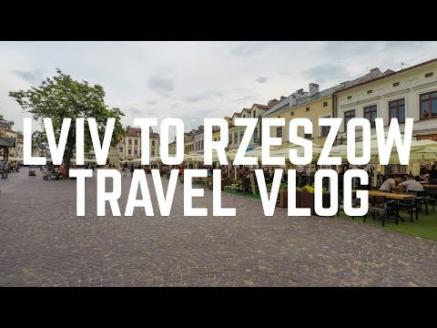 Lviv to Rzeszow | Eastern Europe Travel Vlog 2017