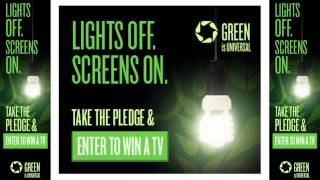 "NBCUniversal Launches ""Lights Off. Screens On."" Awareness Campaign Leading Up to Earth Week"