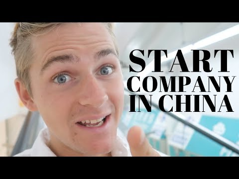 How to start a company in China