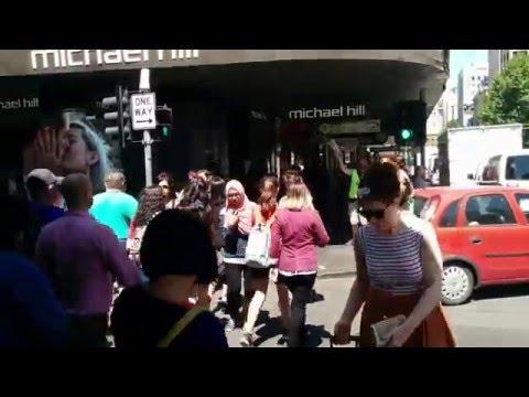 Little Collins St/Elizabeth St corner, Melbourne