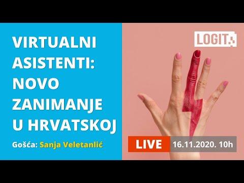 Virtualni asistenti: novo zanimanje u Hrvatskoj   Buba u uho, LOGIT LIVE