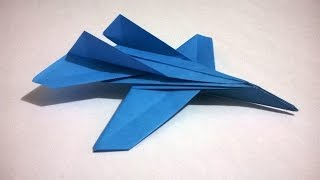 COMO HACER UN AVION DE PAPEL QUE VUELE MUCHO(origami papiroflexia)