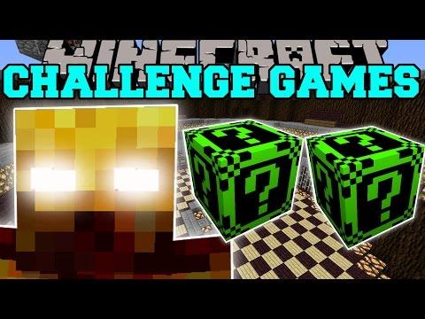 Minecraft: BLAZE KNIGHT CHALLENGE GAMES - Lucky Block Mod - Modded Mini-Game
