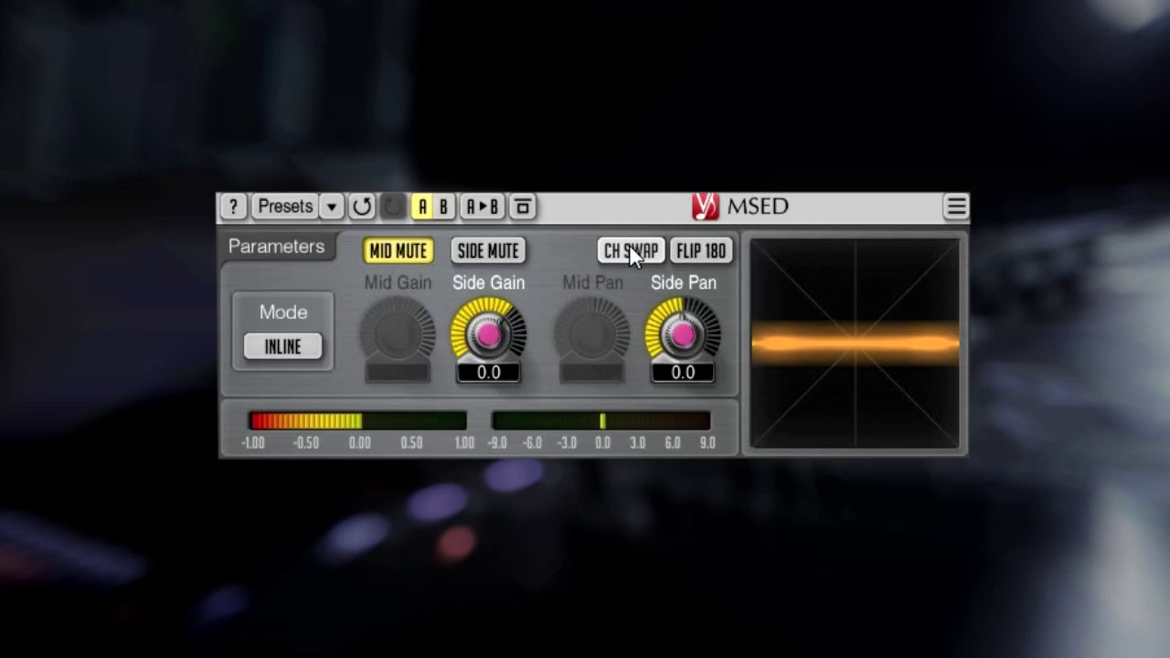 Add Stereo Width To Your Mix (msed vst)