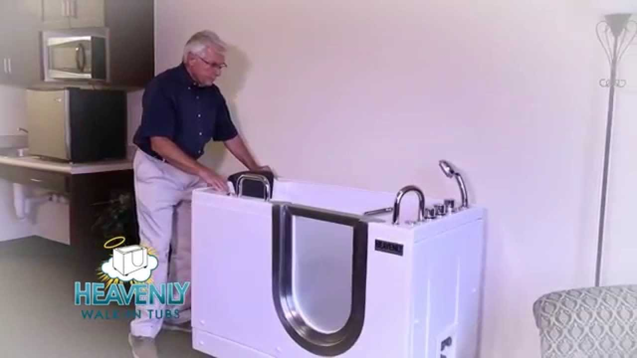 Heavenly Portable Walk-In Tubs - YouTube