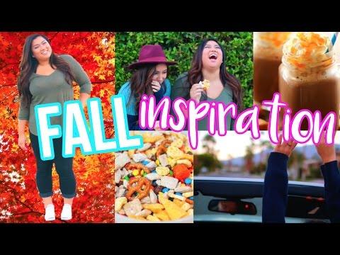 FALL INSPIRATION   DIY Snacks, Road Trip Essentials + Outfit Idea!