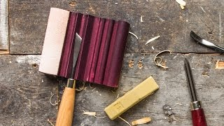Sharpening Carving Tools With The Flexcut SlipStrop