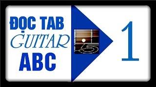 Học đàn Guitar ABC [ hướng dẫn đọc tab guitar ]P1 -HD ban đầu