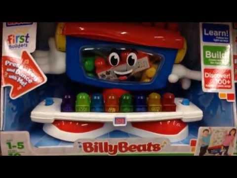 New Mega Bloks Billy Beats Dancing Piano Preschool Toy Store View