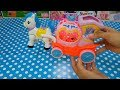 Magic Carriage Rotating With Light and Music Cartoon Horse Beautiful Toys for Kids