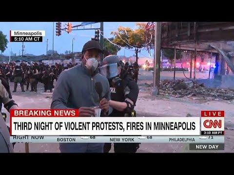 شاهد: الشرطة الأمريكية تعتقل صحافي شبكة -سي إن إن- خلال تغطية مباشرة…  - نشر قبل 2 ساعة