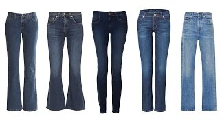 Type of Jeans and How to Wear Them - Fashion Inspiration