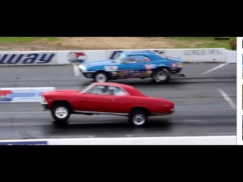 DRAG RACING: DIAL IN TIME 1/4 MILE ENGLISHTOWN NJ USA