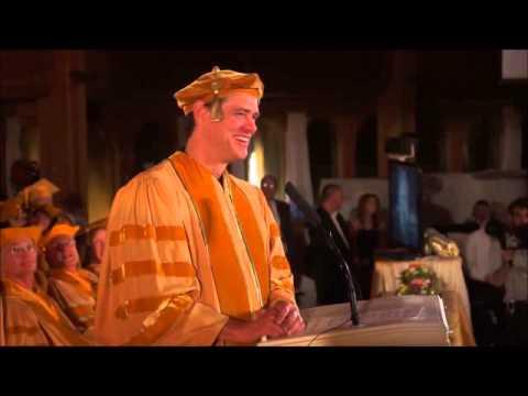 Jim Carrey - Discurso para os formandos de 2014 da MUM