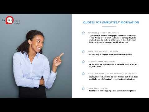 Employee Engagement Quotations