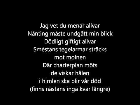 Kent - Vy från ett luftslott [lyrics]