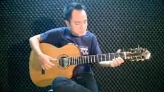 Trên sông Nê Va thân yêu - guitar