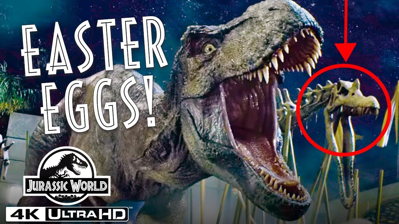 Jurassic World - Every Easter Egg and Hidden Reference You Missed in 4K HDR | Jurassic World