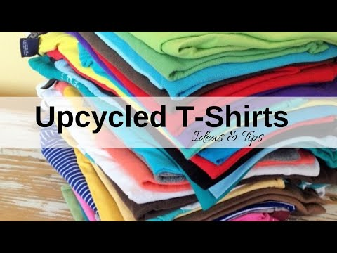 UPCYCLED T-SHIRTS: Repurposed knit fabric at its best