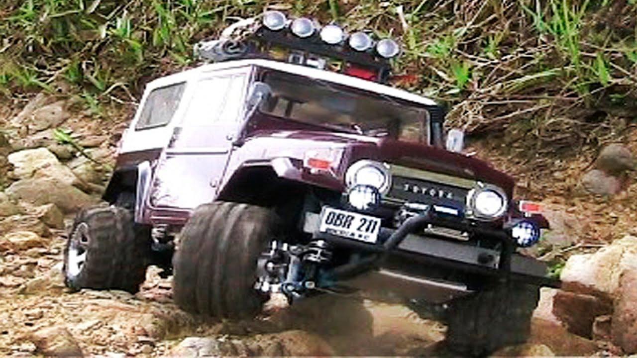 Rc4wd Rock Crawler Toyota Fj40 Youtube