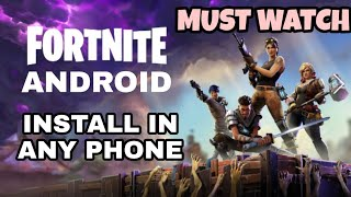 Download Fortnite On Any Android Device Officially - Full Process in Hindi