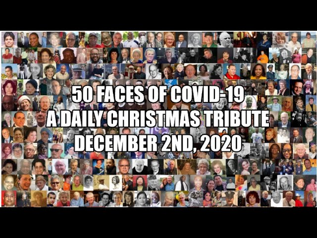 50 Faces of Covid Daily Countdown to Christmas