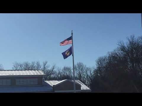 Rest Area Nebraska USA (Winter Time Weather) Cars & Truck Parking