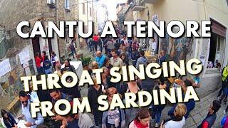 CANTU A TENORE - UNIQUE THROAT SINGING FROM SARDINIA