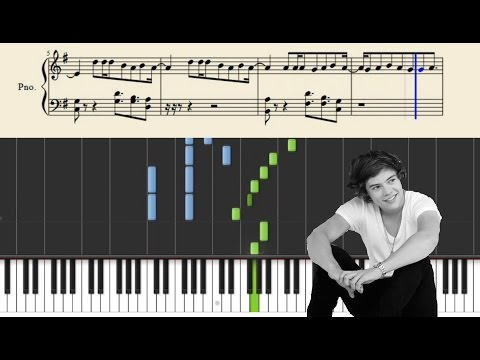 One Direction - Infinity - Piano Tutorial + Sheets