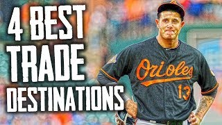 The 4 Best Trade Destinations for Manny Machado