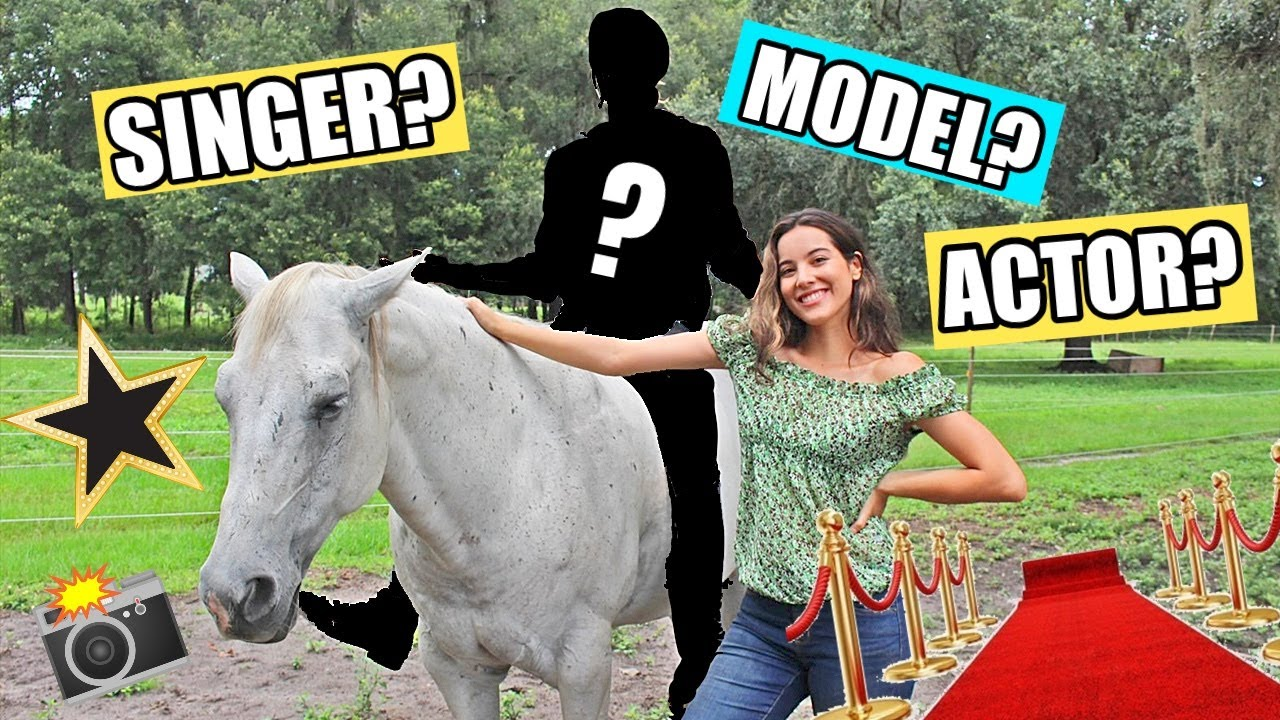 CELEBRITY Rides My Horse! + Giving A Lesson For The First Time!